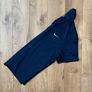 Nike Navy Blue Collared Polo